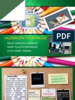 PROYECTO FINAL VALORACION DE EMPRESAS