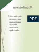 Experimento de Ardila y Rosselli (1989)