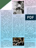 Poster Digital Emprego domestico uma desiginação historicamente vinculada às mulheres negras
