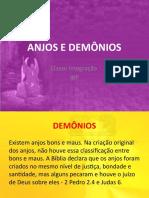 classe integração - ANJOS E DEMÔNIOS 2