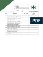 Daftar Tilik Sop Pendokumentasian
