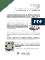 Act 4 La influencia de la realidad social (económica, política, religiosa) en la configuración de la identidad del adolescente