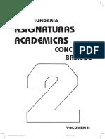 asignaturas academicas 2geadro