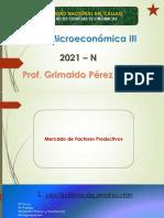 4) Mercado de factores productivos - Teoría Microeconómica III (2021-N)