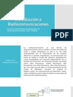 Introducción a Radiocomunicaciones Sesion 8 Repaso