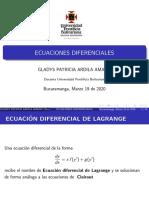 Diapositivas 1 de ecuaciones diferenciales
