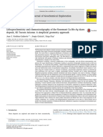 Lithogeochemistry and Chemostratigraphy of the Rosemont Cu Mo Ag Skarn Deposit SE Tucson Arizona a Simplicial Geometry Approach