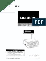 BC-4000 service.TOC