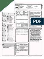 5e Starter Set - Character Sheets RUS