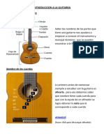 Introduccion a La Guitarra