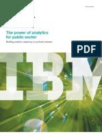 IBM Power of Analytics White Paper (2011)