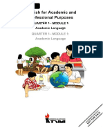 EAPP Module 1