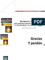 Presentacion de la WordCamp España del 2010 sobre WP y SEO