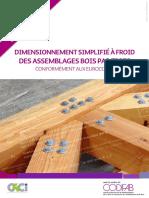 Dimensionnement simplifié des assemblages bois par tiges