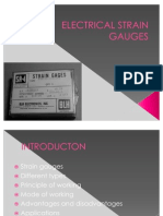 ELECTRICAL STRAIN GAUGES