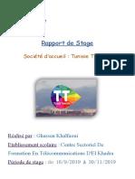 Rapport de Stage Ghassen