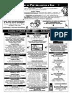 Portarlington Parish Newsletter March 28th 2021
