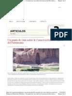 Rodríguez, M.A. Un punto de vista sobre conserv. preventiva. 2000