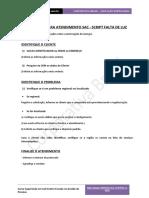 Script Sac - Modelo de Processo para Sac