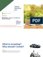 #2 Basics in Investing - UofTIPC - March 2021