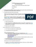 busn7005 final exam instructions