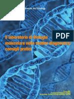 Il laboratorio di biologia molecolare nella routine diagnostica