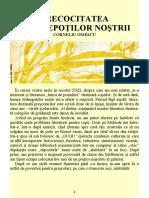 Almanah Anticipaţia 1986 - 33 Corneliu Omescu - Precocitatea strănepoţilor noştri 2.0 '{SF}