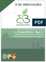 Caderno 01 Orientacoes para Reducao de Custos com Energia e Agua