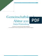 Zusammenfassung Gemeinschaftskunde Abitur 2011