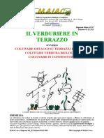 Coltivare Orto Biologico in Terrazzo
