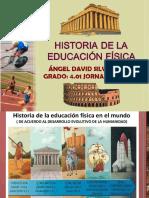 HISTORIA DE LA EDUCACIIÓN FISICA - SILVA CASTILLO ÁNGEL DAVID