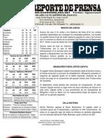 Reporte 4 Guaros - Gaiteros