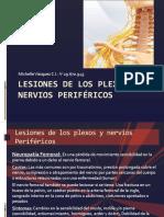 Lesiones de los plexos y nervios Periféricos