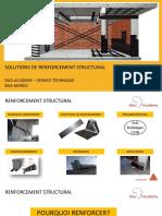 SOLUTIONS DE RENFORCEMENT STRUCTURAL -SEMINAIRE  --  SIKA