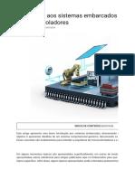 Introdução aos sistemas embarcados e microcontroladores