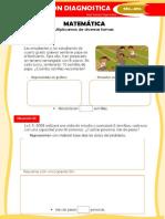 EVALUACION- RESUELVE PROBLEMAS DE MULTIPLICACION -MATEMATICA -QUINTO-SEXTO