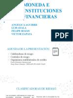 Angelica Aguirre, Luis Ayala, Felipe Rojas, Victor Zapata