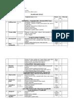 Planificare Anuală AVAP Clasa a-III-A