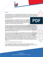 Letter to Trash Panda fans