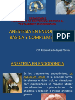 anestesia en endodoncia