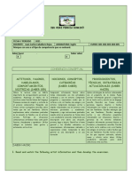 EXAMEN DE SUFICIENCIA GRADO 6 -PROMOCION PENDIENTE 2020 - RECUPERACIONES