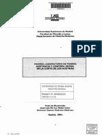 Madrid Laboratorio de Pobres Asistencia y Control Social en La Corte de Los Austrias José Luis de Los Reyes Leoz