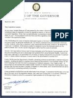 Letter to Legislators on Medical Marijuana