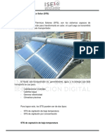 Clase 2 - Sistemas Térmicos Solares (STS)