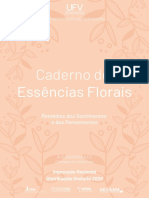 Vol 1 Caderno de Essencias Florais