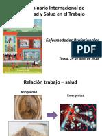 Examenes Medicos Ocupacionales y Enfermedades Ocupacionales