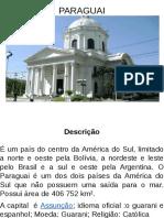 apresentação Paraguay