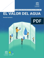 El Valor Del Agua ONU