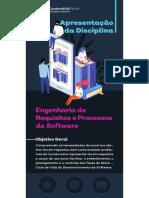 Unidade 1 - Fundamentos de Engenharia de Requisitos - e Apresentação da Disciplina