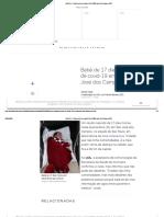 Bebê de 17 dias morre de covid-19 em São José dos Campos (SP)